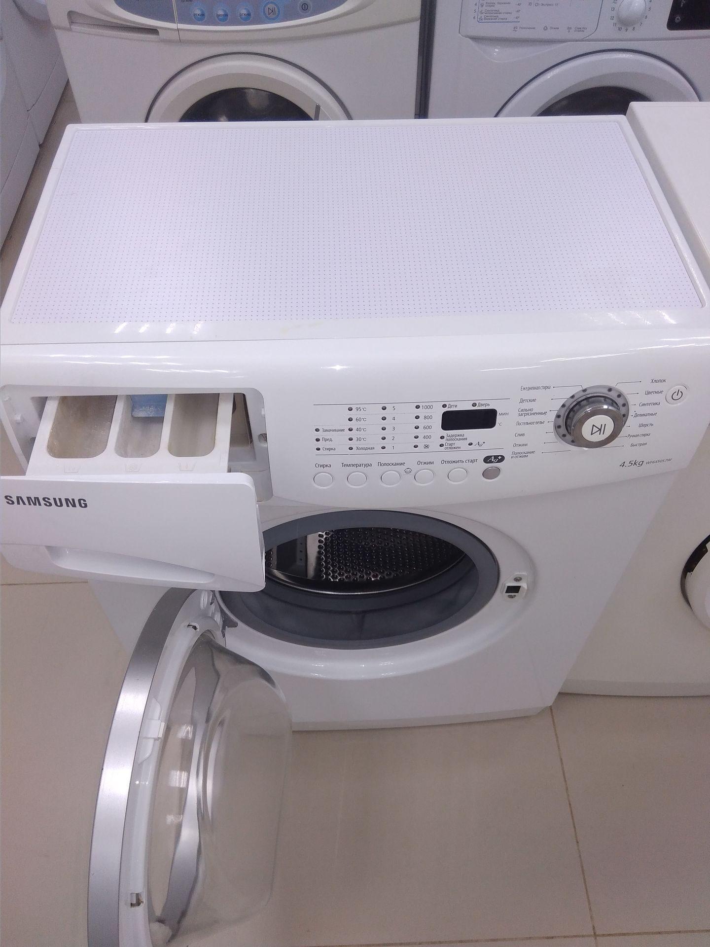 Стиральная машина samsung wf6450s7w ремонт своими руками 90